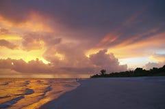 sanibel ηλιοβασίλεμα Στοκ Εικόνες