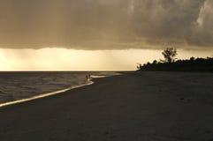 sanibel ηλιοβασίλεμα Στοκ εικόνες με δικαίωμα ελεύθερης χρήσης