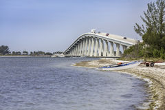 Sanibel Causeway And Bridge in Florida Stock Photos