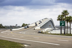 Sanibel Causeway And Bridge in Florida royalty free stock photos