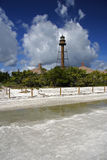 Sanibel Island Lighthouse. View of the old Sanibel Island Lighthouse, Florida stock photography