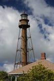 Sanibel Island Lighthouse. The historic Sanibel Island Lighthouse in South Florida stock images