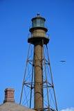 Sanibel Island Lighthouse. The historic Sanibel Island Lighthouse in South Florida royalty free stock photo