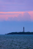 Sanibel Island Lighthouse Dawn Stock Images