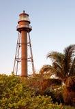 Sanibel Island Lighthouse. In Florida, USA stock photos