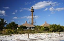 Sanibel Island Lighthouse. Historic Sanibel Island Lighthouse on the Gulf Coast of Florida royalty free stock photo