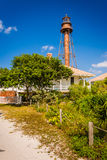 Sanibel Island Lighthouse, in Sanibel, Florida. Stock Images