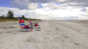 Sanibel Island. A photo of the beach on Sanibel Island stock images