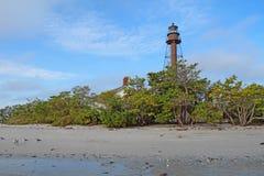 Sanibel Island or Point Ybel Light in Florida stock photography