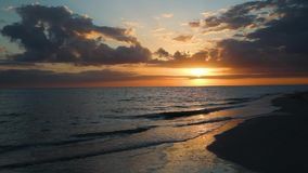 Free Sanibel Island Sunset Loop - Video Footage Stock Photography - 144248402
