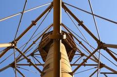 Sanibel Leuchtturm-Stahlfeld Lizenzfreie Stockfotos