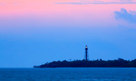 Sanibel Light Dawning Royalty Free Stock Photo