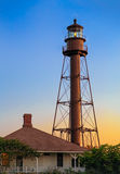 Sanibel Lighthouse Daybreak Stock Images