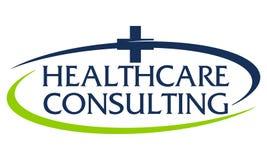 Sanità che consulta Logo Design Template royalty illustrazione gratis