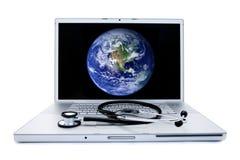 Sanità globale Fotografia Stock Libera da Diritti