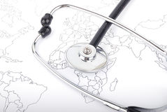 Sanità globale Fotografie Stock Libere da Diritti