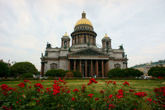 Sanit Isaac church in St.petersburg Stock Images
