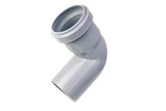 Sanitaire pvc-montage royalty-vrije stock fotografie