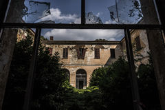 sanitarium Arkivbilder