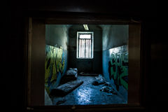 Sanitarium. Abandoned sanitarium near milano, Italy royalty free stock photography