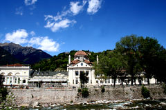 Sanitarium in Meran stock photo