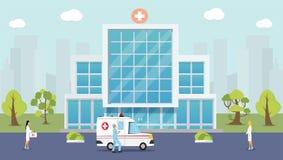 Sanitariusz, przeciwawaryjny dru?yny ratowniczej concep ilustracji