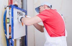 Sanitarna system instalacja Zdjęcie Royalty Free