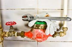 sanitarny wyposażenia życie wciąż Obraz Stock