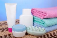 Sanitary articles Stock Photo