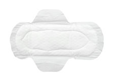 Sanitary napkin Stock Photo