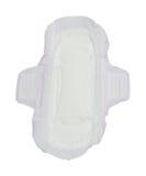 Sanitary napkin isolate on white background Stock Photography