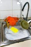 Sanitary problem still life. stock images