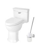 Sanitary toilet bowl Royalty Free Stock Photo