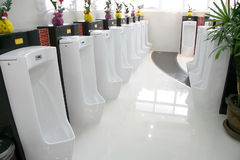 Sanitary ware. The concept of creative industries Royalty Free Stock Image