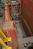 Sanitation bay works at Panama Stock Images