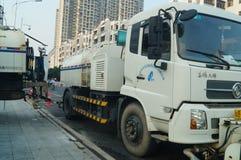 Sanitation vehicles Royalty Free Stock Images