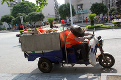 The  Sanitation workers in GUILIN Stock Images