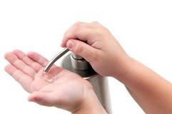Sanitizer da mão Imagem de Stock
