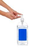 sanitizer för hand s för barn fördelande Arkivbilder