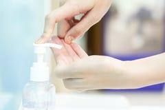 Sanitizer gel Royalty Free Stock Images