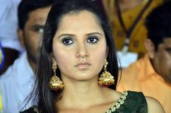 Saniya Mirza Fotografia Stock