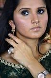 Saniya Mirza Foto de archivo libre de regalías