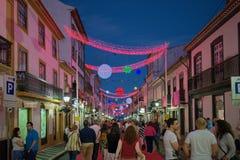 Sanjoaninas庆祝, Angra做Heroismo, Terceira海岛, Azo 免版税图库摄影