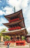 Sanju-κανένας-στην παγόδα, ναός Narita-SAN Shinto-shinto-ji Στοκ φωτογραφία με δικαίωμα ελεύθερης χρήσης