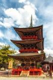 Sanju-κανένας-στην παγόδα, ναός Narita-SAN Shinto-shinto-ji Στοκ εικόνα με δικαίωμα ελεύθερης χρήσης