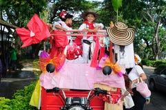 Sanjuanero Festiwal - Kolumbia Fotografia Royalty Free
