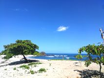 Sanjuanillo plaża, Guanacaste, Costa Rica zdjęcie royalty free