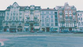 67-71 Sanka Martin Street Poznan Fotografering för Bildbyråer