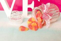 Sanka valentin dag - 14 av februari Arkivfoto