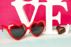 Sanka valentin dag - 14 av februari Arkivfoton